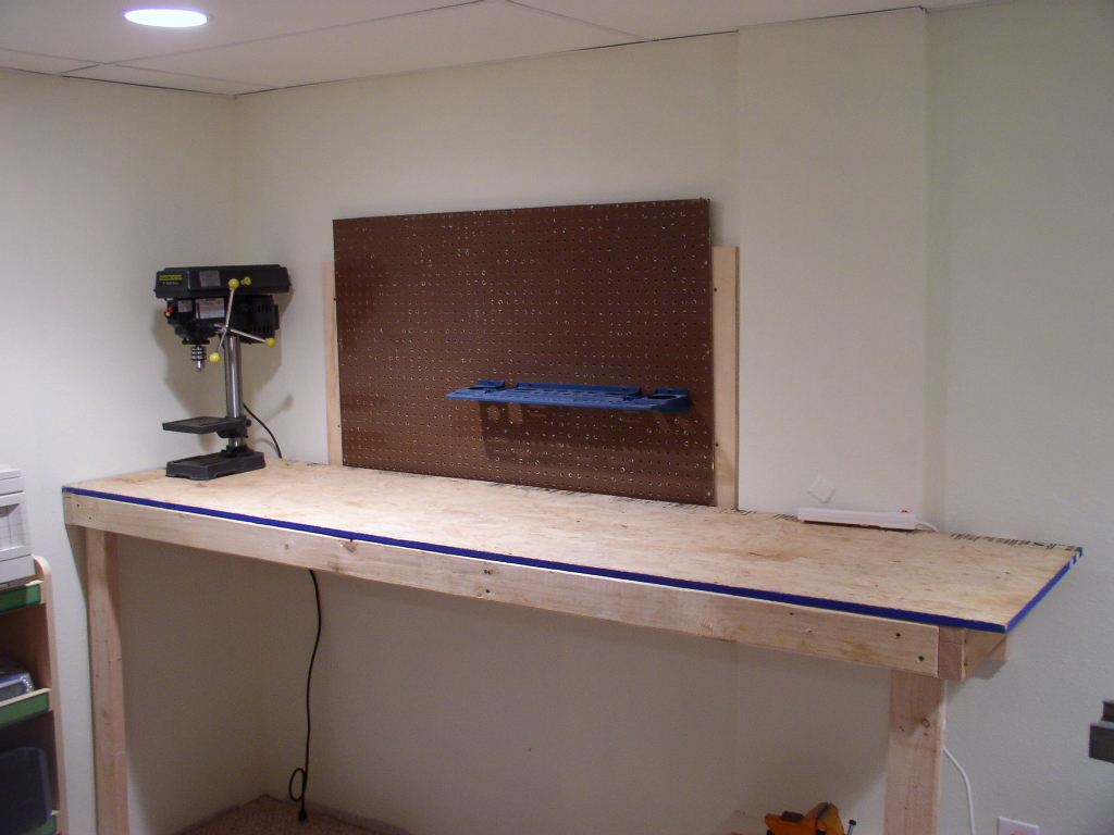 Woodwork free basement workbench plans plans pdf download for Design my basement online free